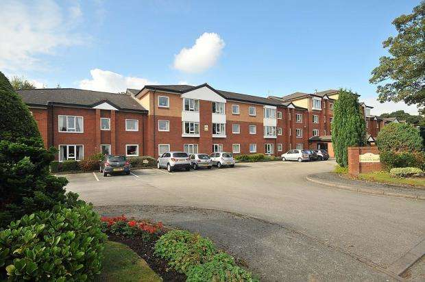 2 Bedrooms Flat for sale in Undercliffe House, Dingleway, APPLETON, Warrington, WA4