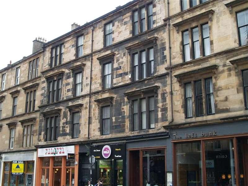 2 Bedrooms Flat for rent in Gibson Street, Hillhead, Glasgow