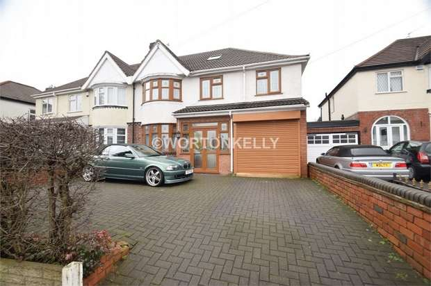 5 Bedrooms Semi Detached House for sale in Walsall Road, WEST BROMWICH, West Midlands
