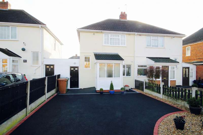 3 Bedrooms Semi Detached House for sale in Norbury Ave, Walsall, WS3