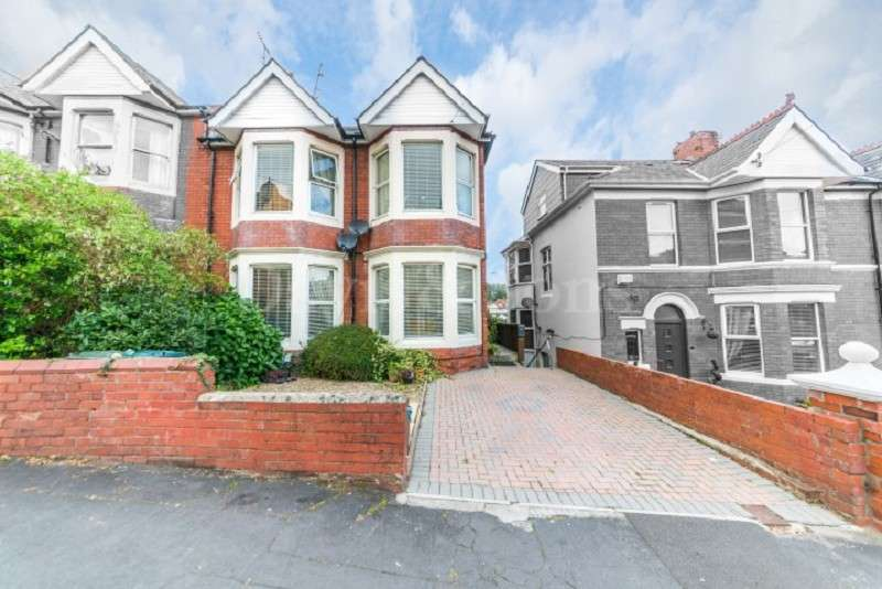 5 Bedrooms Semi Detached House for sale in Llanthewy Road, Off Risca Road, Newport. NP20 4LA