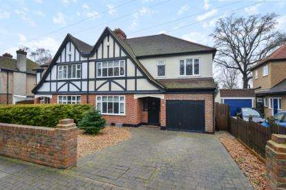 4 Bedrooms Semi Detached House for sale in The Glade, West Wickham