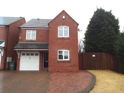 4 Bedrooms Detached House for sale in Oakdene Close, Oakdene Close, Cannock, Hednesford