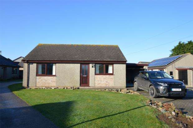 2 Bedrooms Detached Bungalow for sale in Huntersfield, Tolvaddon, Camborne, Cornwall