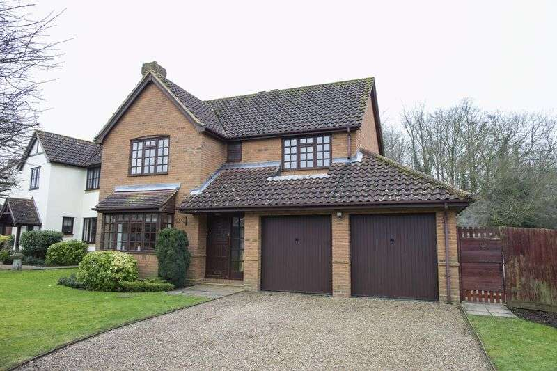 4 Bedrooms Detached House for sale in The Coppice, Bury St. Edmunds