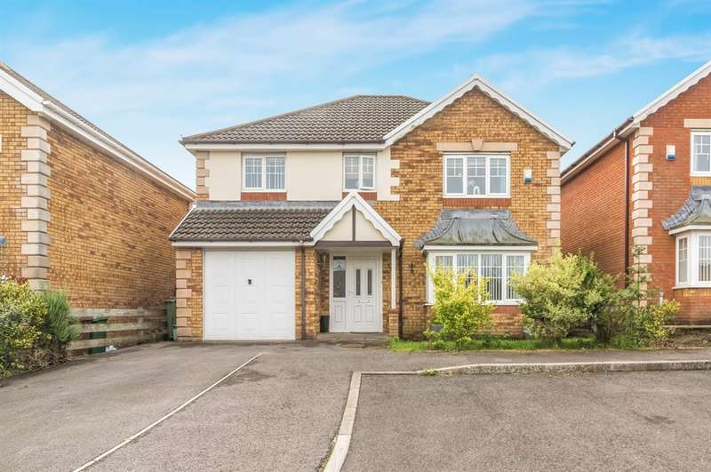 4 Bedrooms Detached House for sale in Gellideg Isaf Rise, Maesycwmmer, HENGOED