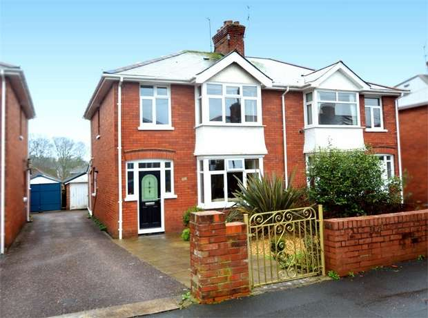 3 Bedrooms Semi Detached House for sale in Chard Road, Heavitree, EXETER, Devon