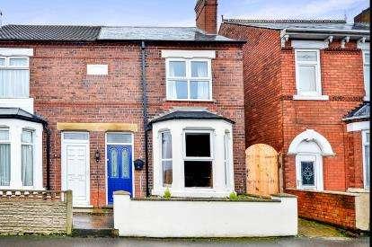 2 Bedrooms Semi Detached House for sale in Marlborough Road, Kirkby In Ashfield, Nottingham, Nottinghamshire