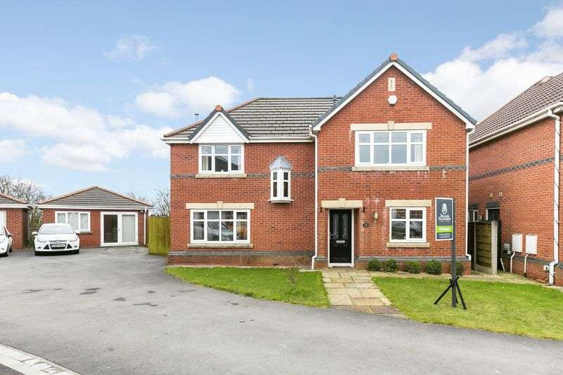 4 Bedrooms Detached House for sale in Welburn Close, Orrell, WN5 8RF