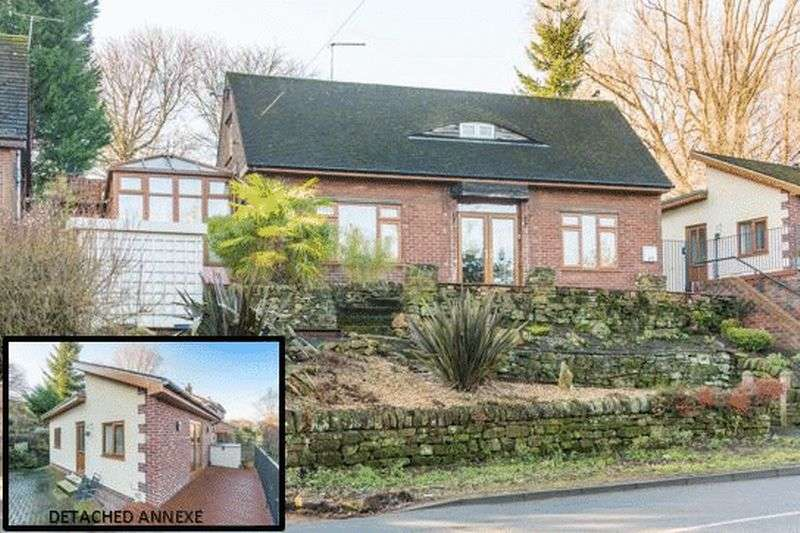 3 Bedrooms Detached Bungalow for sale in Worrall Road, Wadsley S6 4BD - Featuring A Stunning Self Contained Annexe