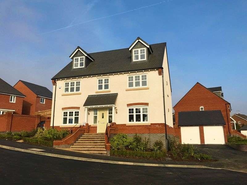 5 Bedrooms Detached House for sale in Plot 45 The Denby, Ashbourne