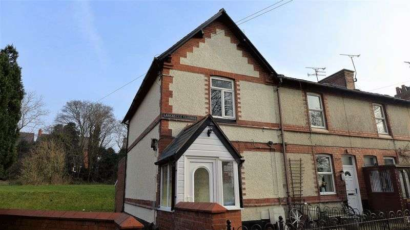 2 Bedrooms House for sale in Lancaster Terrace, Wrexham