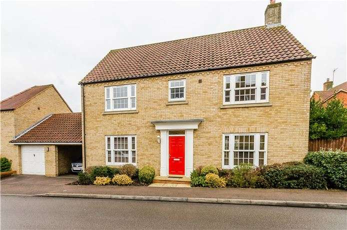 4 Bedrooms Detached House for sale in Darwin Close, Ely