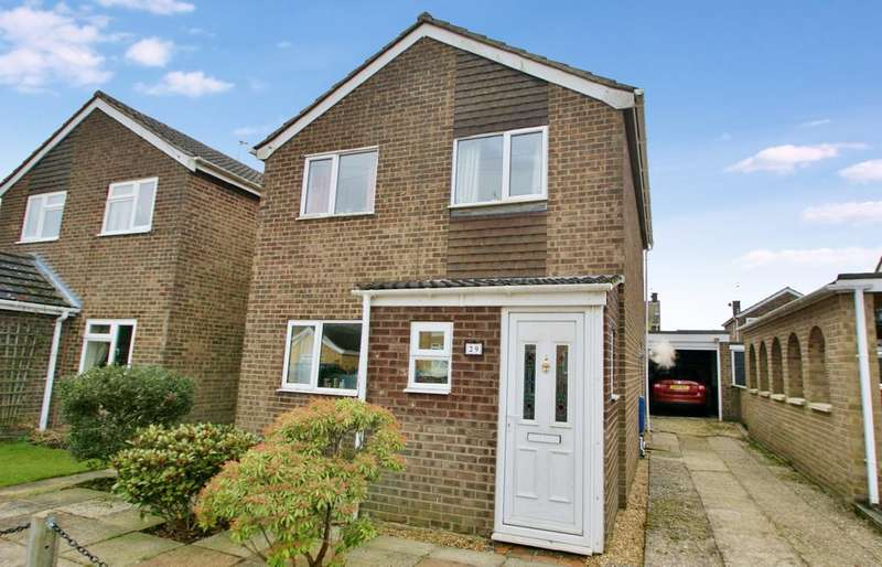 3 Bedrooms Detached House for sale in Westacre Drive, Norwich
