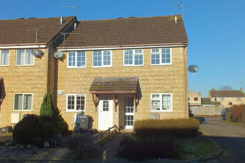 2 Bedrooms End Of Terrace House for sale in South Cerney