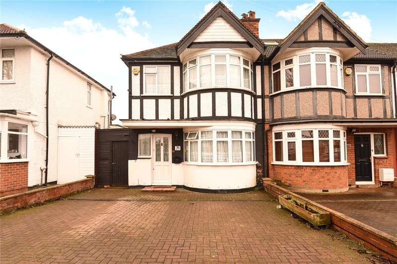 3 Bedrooms End Of Terrace House for sale in Minehead Road, Harrow, Middlesex, HA2
