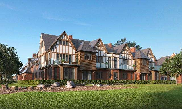 3 Bedrooms Flat for sale in London Square Bassetts House, Broadwater Gardens, off Starts Hill Road, Orpington, Kent, BR6 7UA