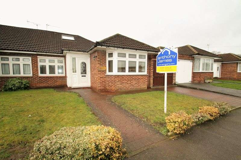 4 Bedrooms Semi Detached Bungalow for sale in Chestnut Grove, Dartford, Kent, DA2