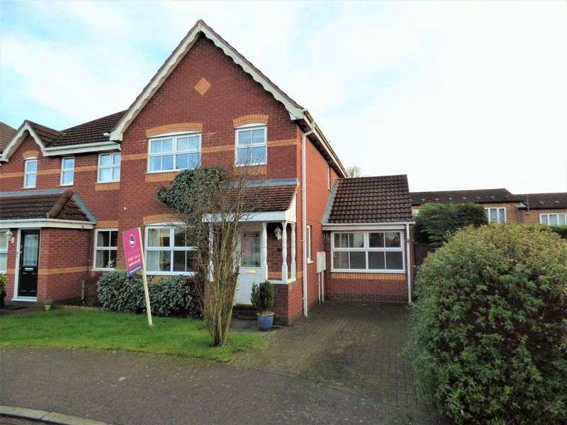 3 Bedrooms Semi Detached House for sale in Battle Close, Northampton