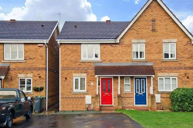 2 Bedrooms Semi Detached House for sale in Sandy Grove, Brownhills, Walsall