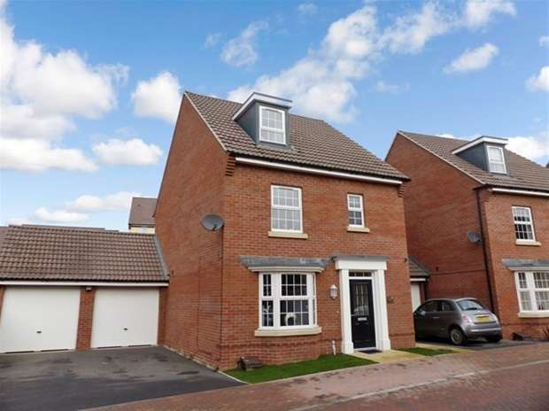 4 Bedrooms Detached House for sale in Turntable Place, Westbury