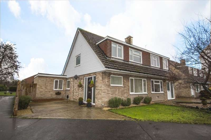 4 Bedrooms Semi Detached House for sale in Ashmole Road, Abingdon-on-Thames, OX14