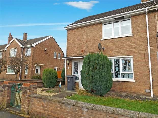 2 Bedrooms End Of Terrace House for sale in Ffordd Powell, Caego, Wrexham