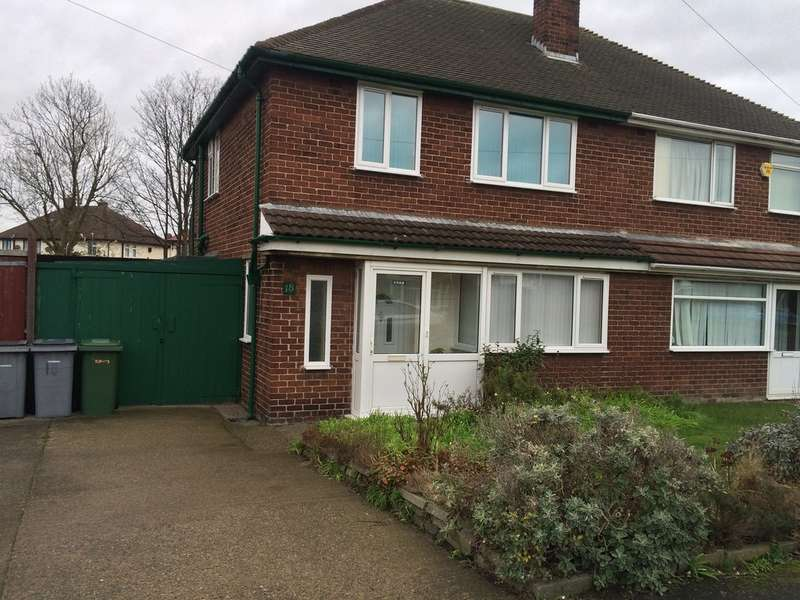 3 Bedrooms Semi Detached House for rent in Ravenhill Crescent, Leasowe, Wirral, CH46