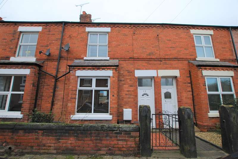 2 Bedrooms Terraced House for sale in Churton Road, Boughton, Chester