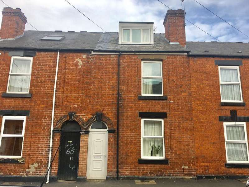 3 Bedrooms House for rent in Langdon Street, Sheffield