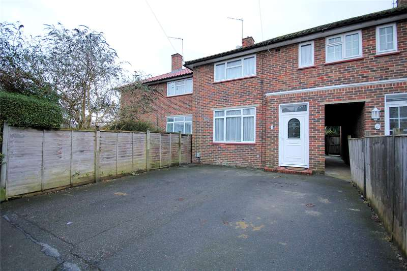 2 Bedrooms End Of Terrace House for sale in Bateson Way, Woking, Surrey, GU21