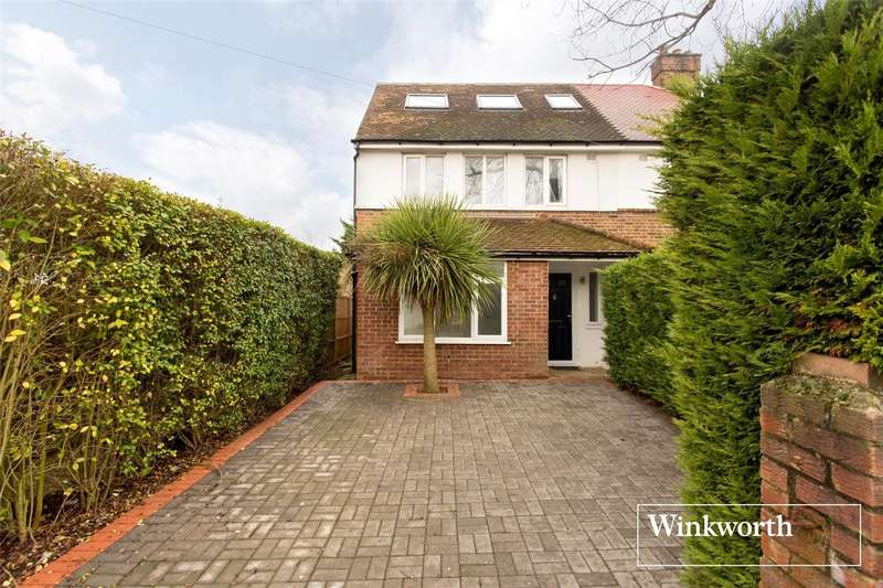3 Bedrooms Semi Detached House for sale in Salcombe Gardens, Mill Hill East, London, NW7