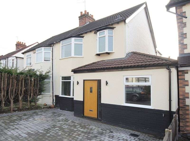 3 Bedrooms Semi Detached House for sale in Holmefield Avenue, Aigburth, Liverpool, L19