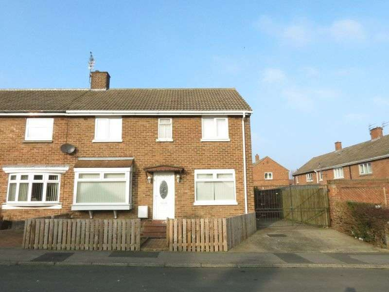 4 Bedrooms Semi Detached House for sale in Newark Close, Peterlee