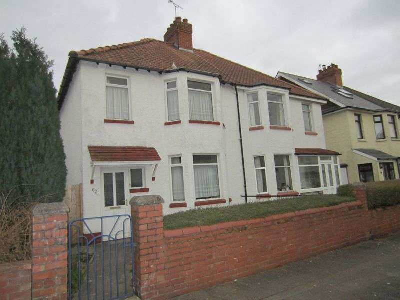 3 Bedrooms Semi Detached House for sale in Fairwater Grove West Cardiff Llandaff CF5 2JQ