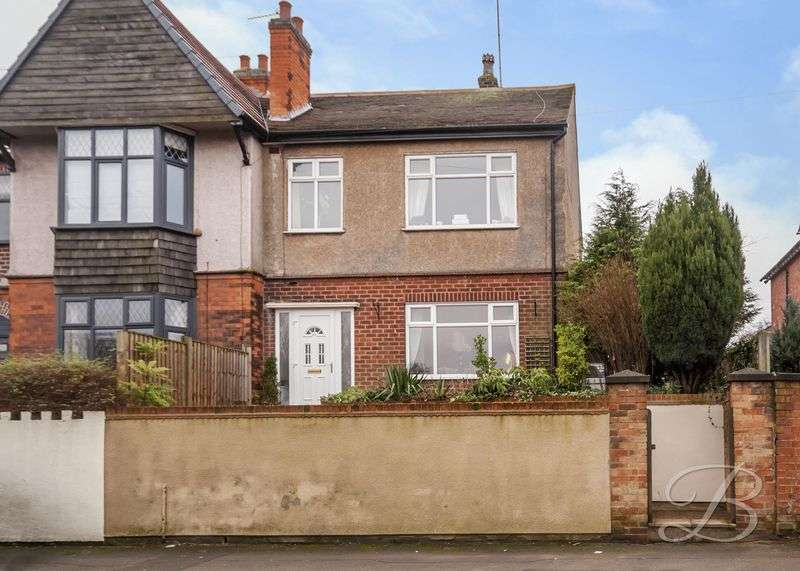 3 Bedrooms Semi Detached House for sale in Mansfield Road, Skegby