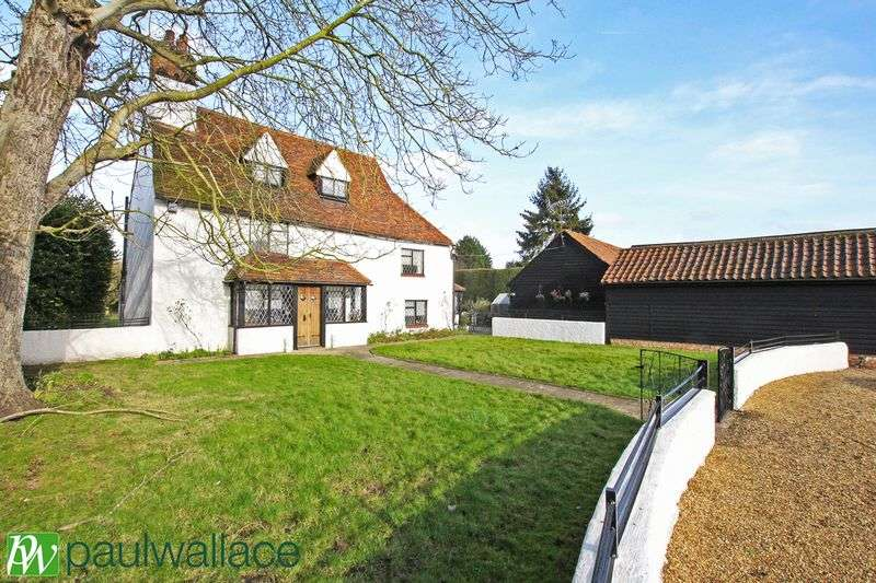 4 Bedrooms Detached House for sale in Nazeing Road, Nazeing