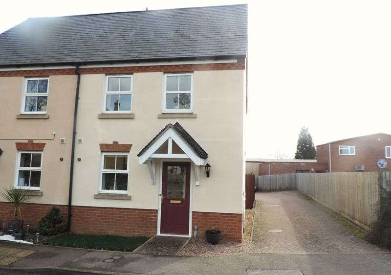 2 Bedrooms Semi Detached House for sale in Eagle Way, Harrold