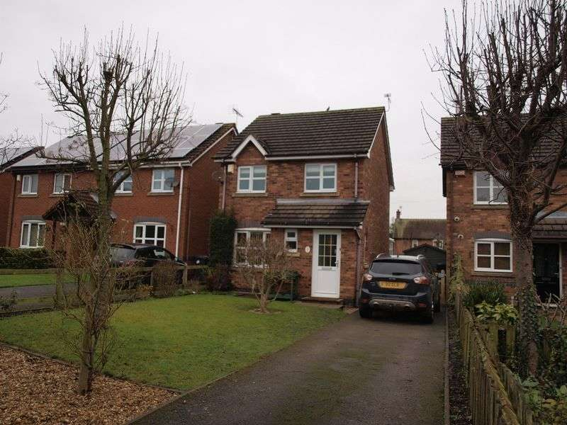 3 Bedrooms Detached House for sale in Wardle Mews, Middlewich, CW10 0EP
