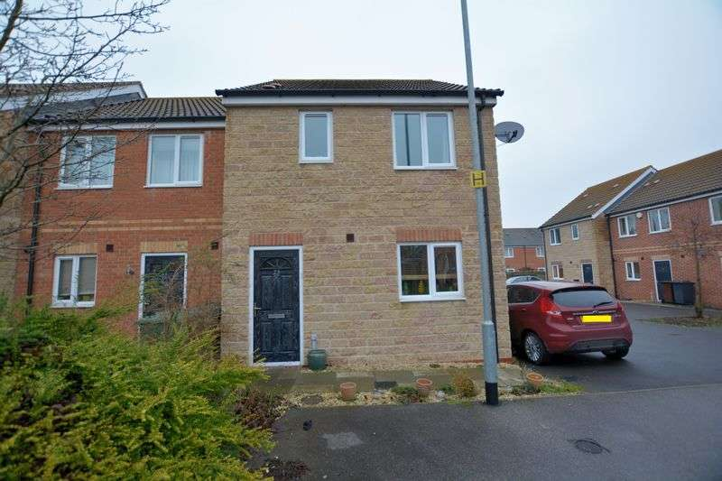 3 Bedrooms Terraced House for sale in Cherry Blossom Court, Lincoln