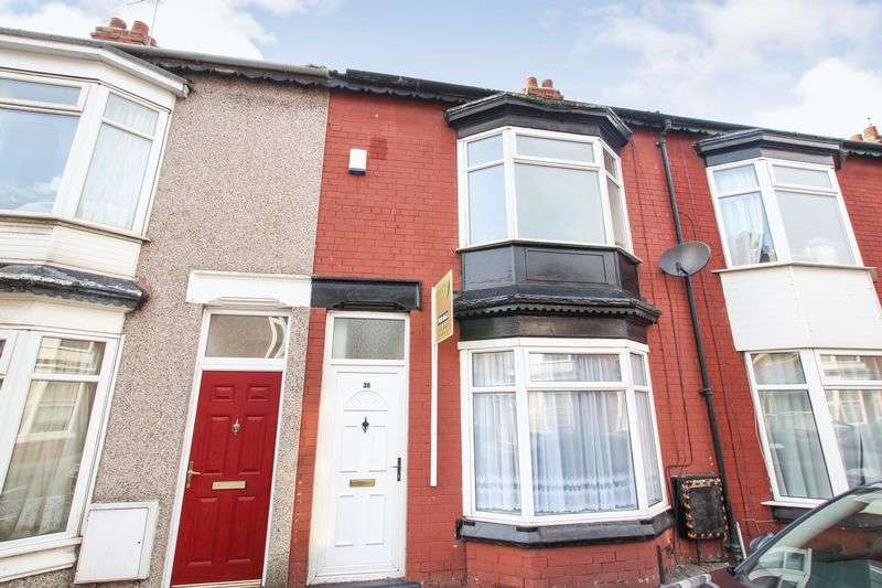 3 Bedrooms Terraced House for sale in Alfred Street, Redcar