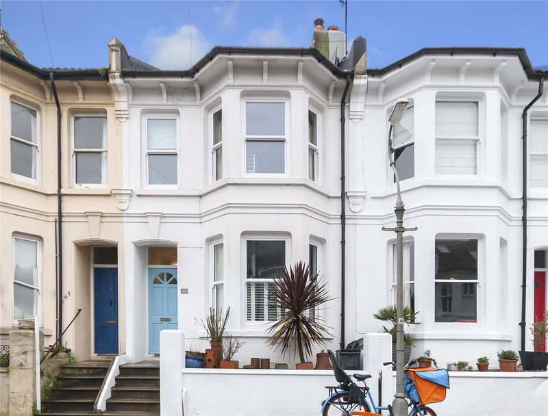 3 Bedrooms Terraced House for sale in Coventry Street, Brighton, East Sussex, BN1