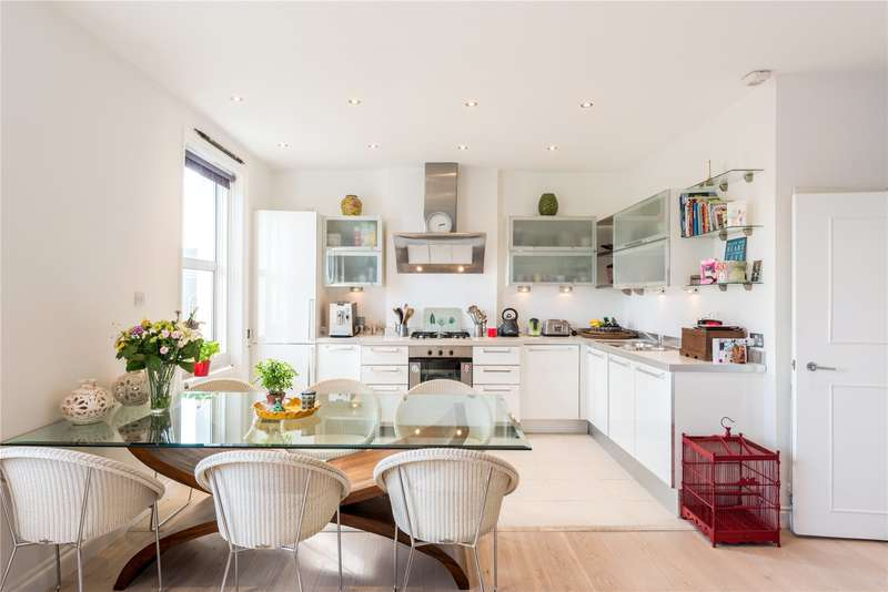 3 Bedrooms Maisonette Flat for sale in King Henrys Road, London, NW3