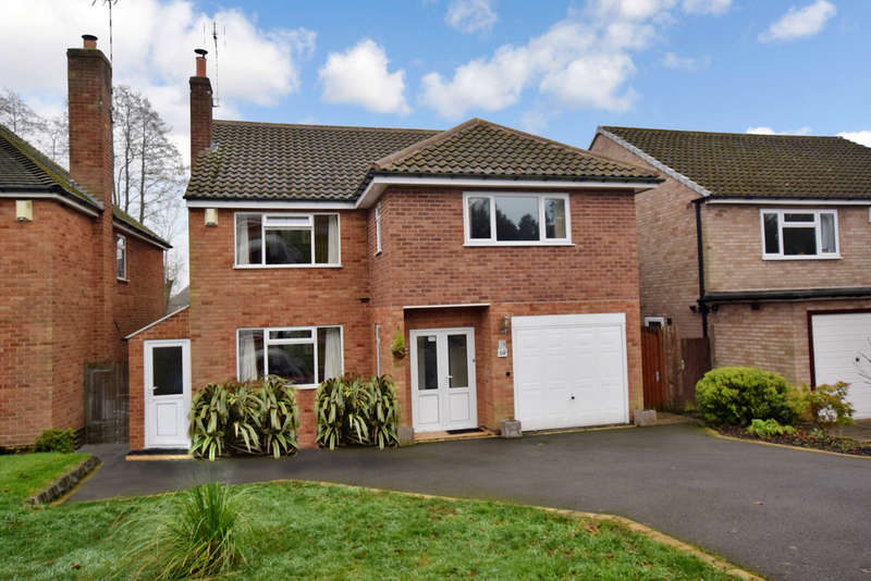 4 Bedrooms Detached House for sale in Westfield Close, Dorridge, Solihull