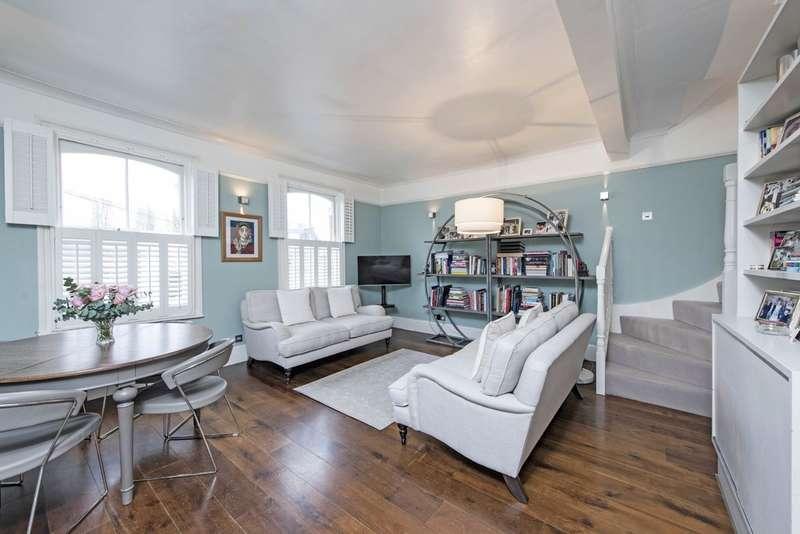3 Bedrooms Maisonette Flat for sale in Mallinson Road, Battersea, London