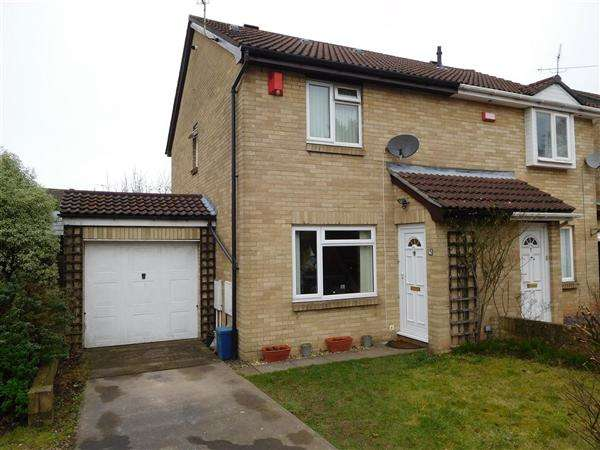 3 Bedrooms Semi Detached House for sale in Birch Close, Magor
