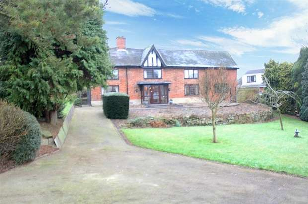 4 Bedrooms Detached House for sale in High Bank Road, Burton-on-Trent, Staffordshire