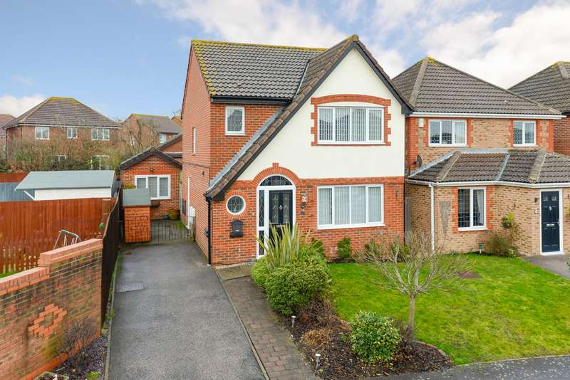 3 Bedrooms Detached House for sale in Romulus Gardens, Knights Park, Ashford, TN23