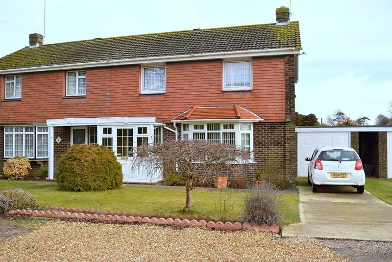 3 Bedrooms Semi Detached House for sale in Heathfield Close, Bembridge, Isle of Wight, PO35 5UG