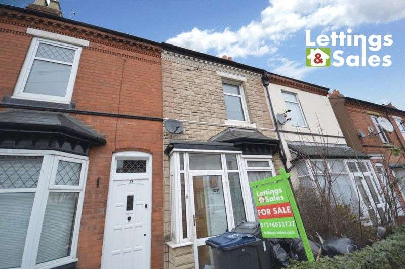 2 Bedrooms Terraced House for sale in South Road, Birmingham